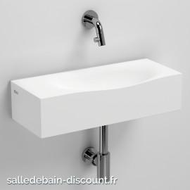 CLOU HAMMOCK-LAVE-MAINS en Cristalplant® et Aluite blanc-CL_03.13370