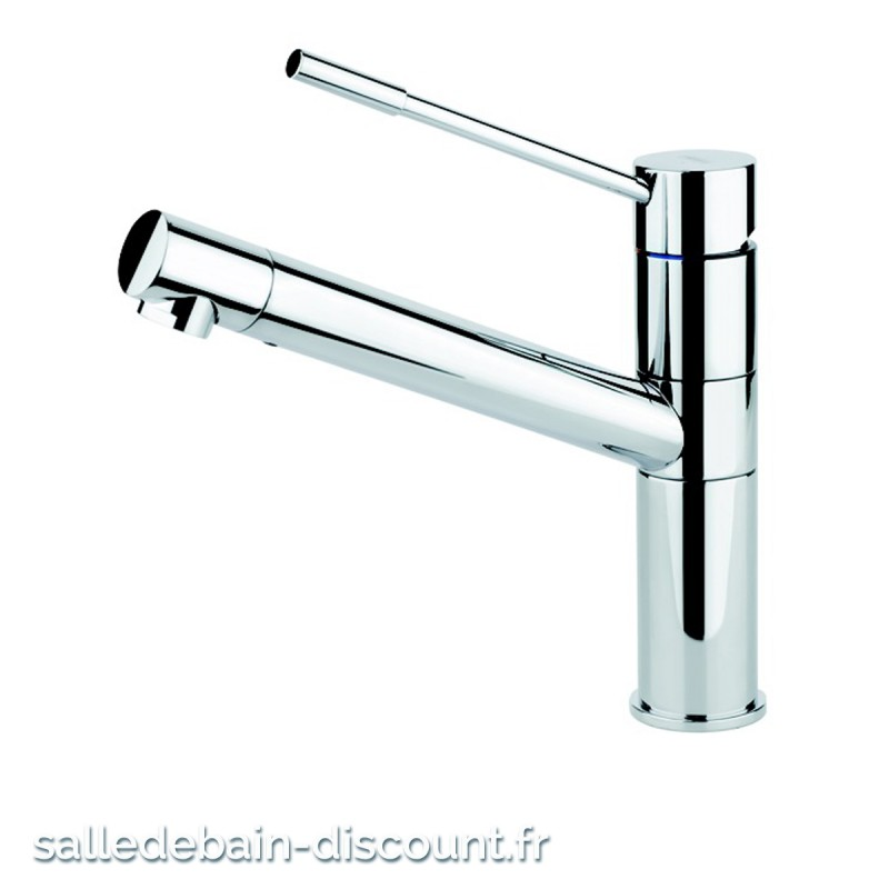 gessi mitigeur evier avec douchette 1 jet inox brosse 23530 seule. Black Bedroom Furniture Sets. Home Design Ideas