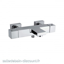 PAÏNI COLLECTION DAX SQUARE-MITIGEUR BAIN/DOUCHE THERMOSTATIQUE E3/1 - C3 - A2 - U3 84CR111THC3