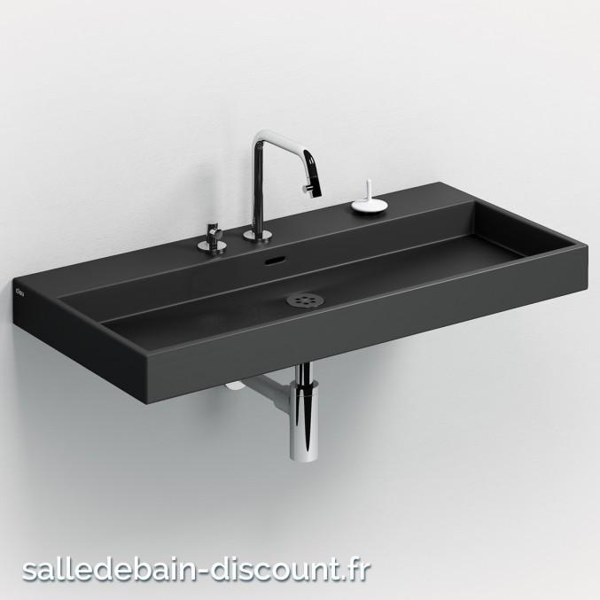 CLOU WASH ME-LAVABO en céramique noire mate-CL_02.30034