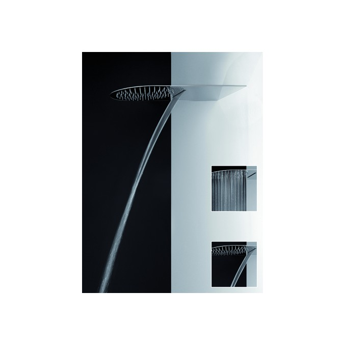 GESSI-CIEL DE PLUIE MURAL AVEC CASCADE-33073