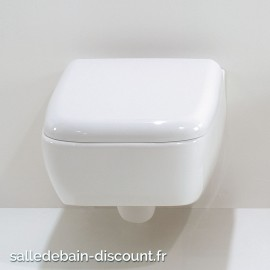 GSG-Cuvette WC suspendue LILAC en céramique blanc brillant-LIWCSO