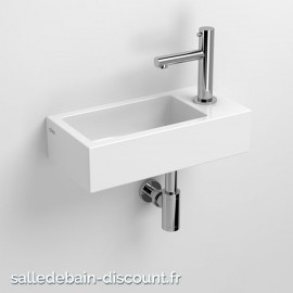 CLOU FLUSH 3-LAVE-MAINS CÉRAMIQUE BLANC-CL/03.03030-1