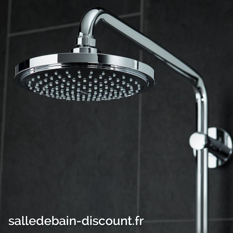grohe colonne de douche euphoria alluring rainshower system combine with system duo shower. Black Bedroom Furniture Sets. Home Design Ideas