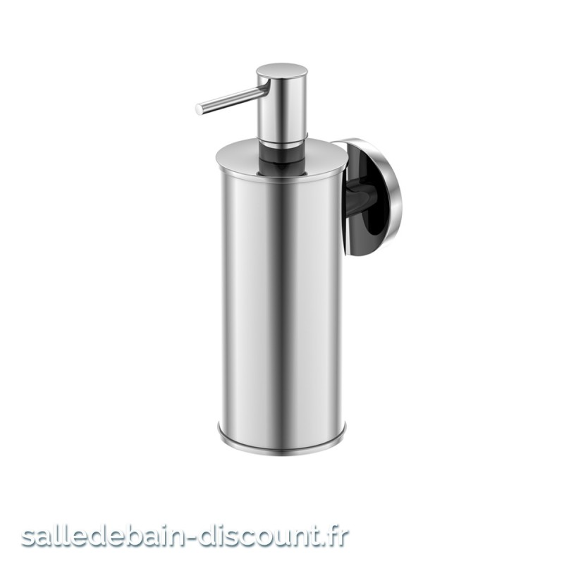 Steinberg distributeur de savon mural chrom en laiton for Distributeur savon mural ventouse