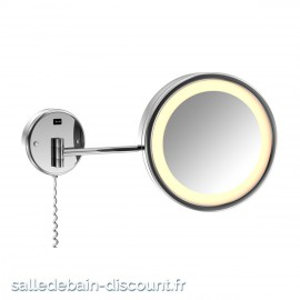 STEINBERG-MIROIR COSMÉTIQUE MURAL AVEC LUMIÈRE LED-6509020