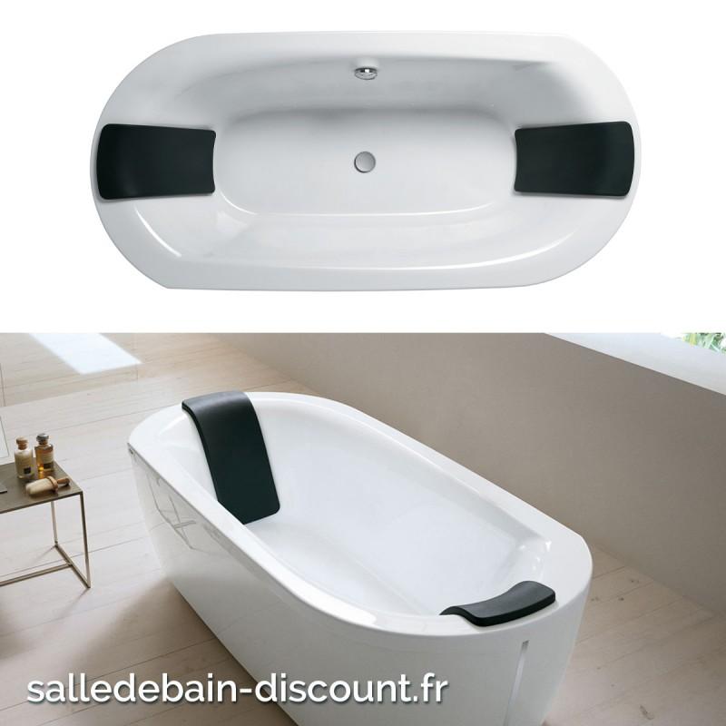 Teuco baignoire acrylique 190x90cm noovalis en lot f01d for Baignoire balneo 190x90