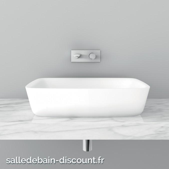 TEUCO- Vasque à poser 65x45x15cm-U9A2D