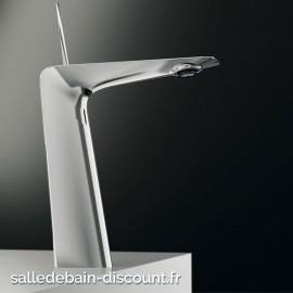 TEUCO- Mitigeur lavabo chromé rehaussé-RC30