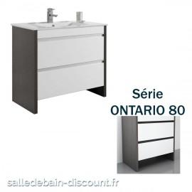 COYCAMA-MEUBLE LAVABO 80x79x45xm SERIE ONTARIO 80