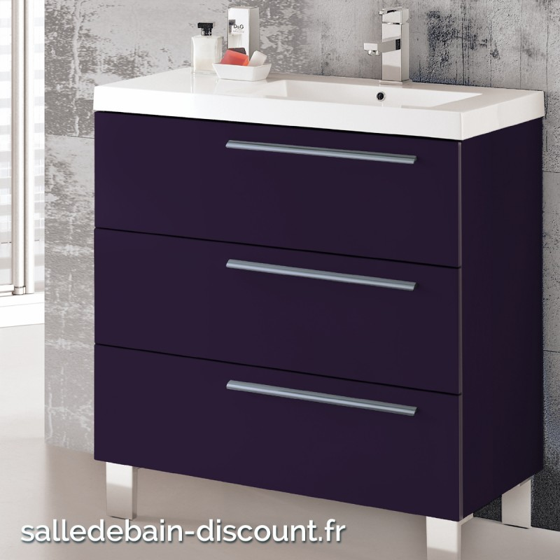 coycama meuble lavabo 80x84x45cm serie star 80 seulement. Black Bedroom Furniture Sets. Home Design Ideas
