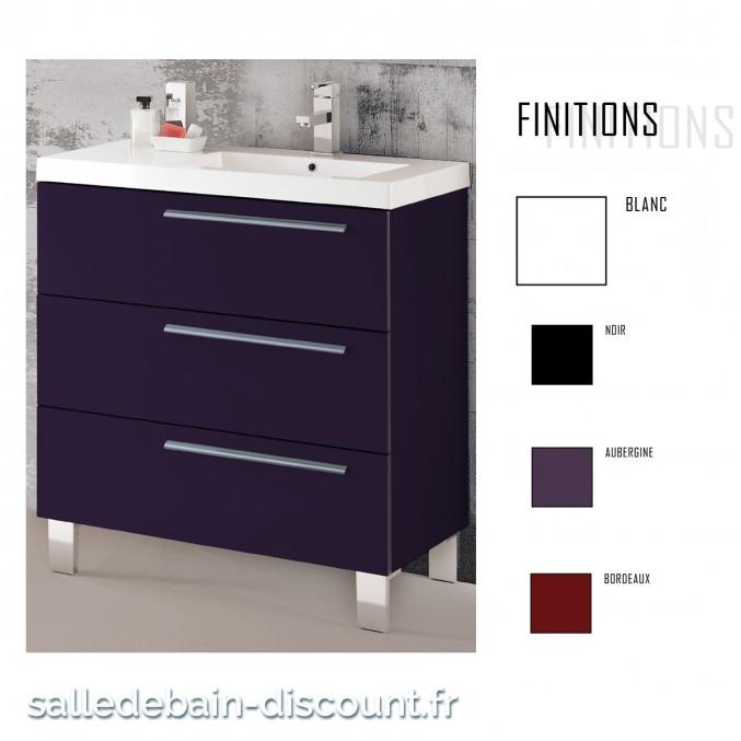 coycama meuble lavabo 80x84x45cm serie star 80 seulement. Black Bedroom Furniture Sets. Home Design Ideas