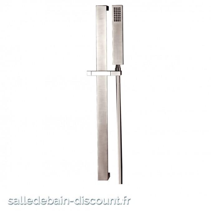 GESSI-Barre de douche complète avec douchette-RETTANGOLO 20145
