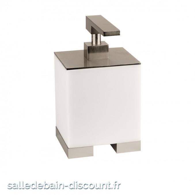 GESSI RETTANGOLO 20837-Distributeur de savon liquide à poser