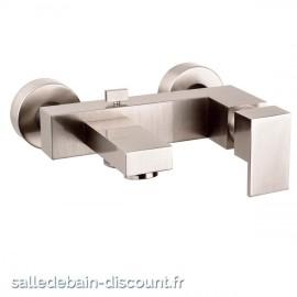 GESSI RETTANGOLO 20013 finition chromée-Mitigeur bain-douche apparent avec inverseur automatique