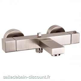 GESSI RETTANGOLO 20111-MITIGEUR THERMOSTATIQUE BAIN DOUCHE APPARENT