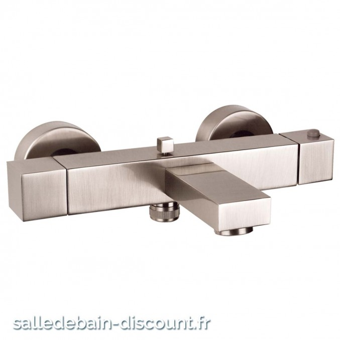 GESSI RETTANGOLO MITIGEUR THERMOSTATIQUE BAIN DOUCHE APPARENT