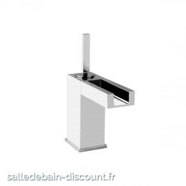 GESSI RETTANGOLO COLOUR 30902 finition chromée-MITIGEUR LAVABO AVEC LED