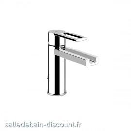 GESSI RIFLESSI 34901 finition chromée-Mitigeur lavabo avec vidage, flexibles de raccordement