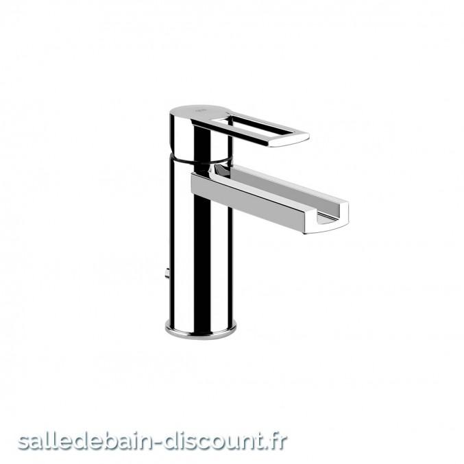 "GESSI RIFLESSI 34901-Mitigeur lavabo avec vidage 1 1/4"", flexibles de raccordement 3/8"""