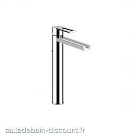 GESSI RIFLESSI 34904 finition chromée-Mitigeur lavabo avec vidage, flexibles de raccordement