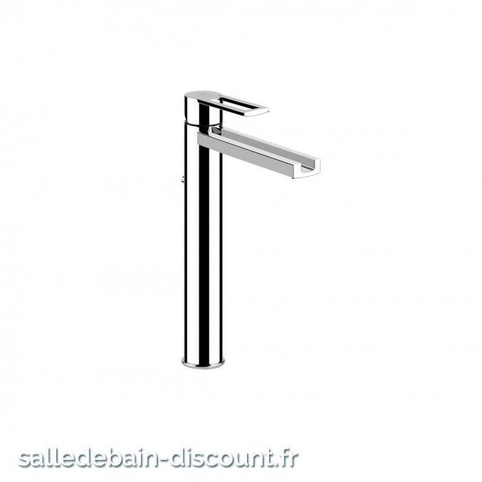 "GESSI RIFLESSI 34904-Mitigeur lavabo avec vidage 1 1/4"", flexibles de raccordement 3/8""."