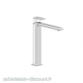 GESSI ELEGANZA 46004 finition chromée-MITIGEUR LAVABO REHAUSSE SANS VIDAGE