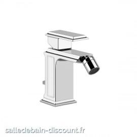 """GESSI ELEGANZA 46007-Mitigeur bidet avec vidage 1 1/4"""", flexibles de raccordement 3/8"""""""