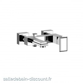 GESSI ELEGANZA 46013 finition chromée-Mitigeur bain-douche apparent avec inverseur automatique