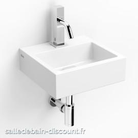 CLOU FLUSH 1-LAVE-MAINS en céramique blanche-CL_03.03010