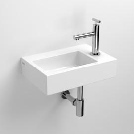 CLOU FLUSH 2-LAVE-MAINS en céramique blanche-CL_03.03020