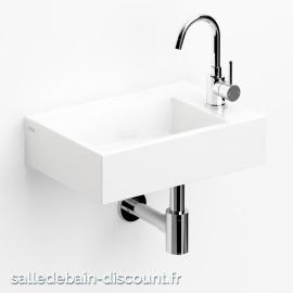 CLOU FLUSH 2 PLUS-LAVE-MAINS en céramique blanche-CL_03.03220