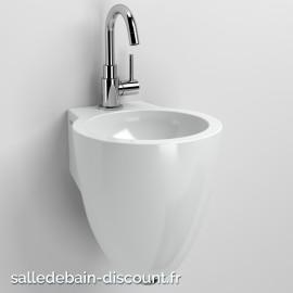 CLOU FLUSH 6-LAVE-MAINS en céramique blanche-CL_03.03060