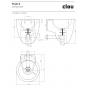 CLOU FLUSH 6-LAVE-MAINS en Cristalplant® et Aluite-CL_03.13061