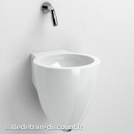 CLOU FLUSH 6-LAVE-MAINS en céramique blanche-CL_03.03061