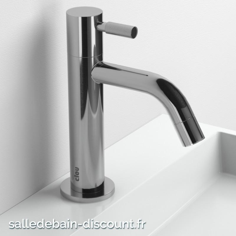 Clou freddo 2 robinet rehauss eau froide chrom pour lave mains cl - Robinet eau froide pour lave main ...