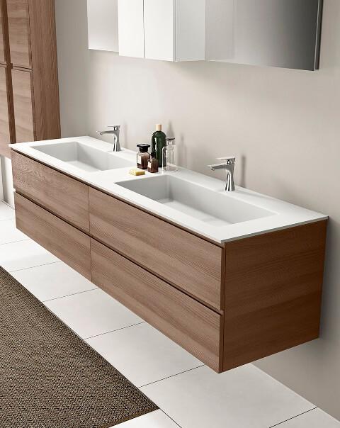 Un vasque ou une vasque for Ou acheter salle de bain